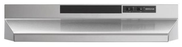 Hotte de cuisinière sous-armoire Broan® de 24 po - Acier inoxydable-BU224SS