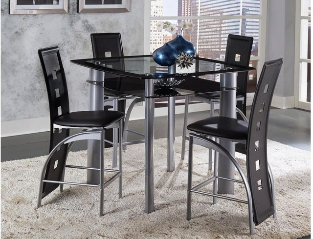 Sona 5 Piece Counter Height Dining Table Set-5532-36*5