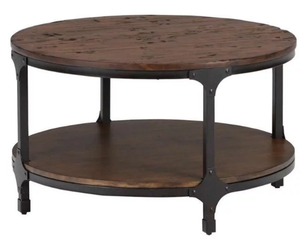 Jofran Inc. Urban Nature Round Cocktail Table-785-2