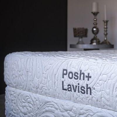 Posh+Lavish™ Prominence Pocket Sprung Medium Plush Queen Mattress-MATPMN-50-011