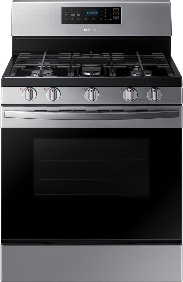 """Samsung 30"""" Stainless Steel Free Standing Gas Range-NX58R4311SS"""