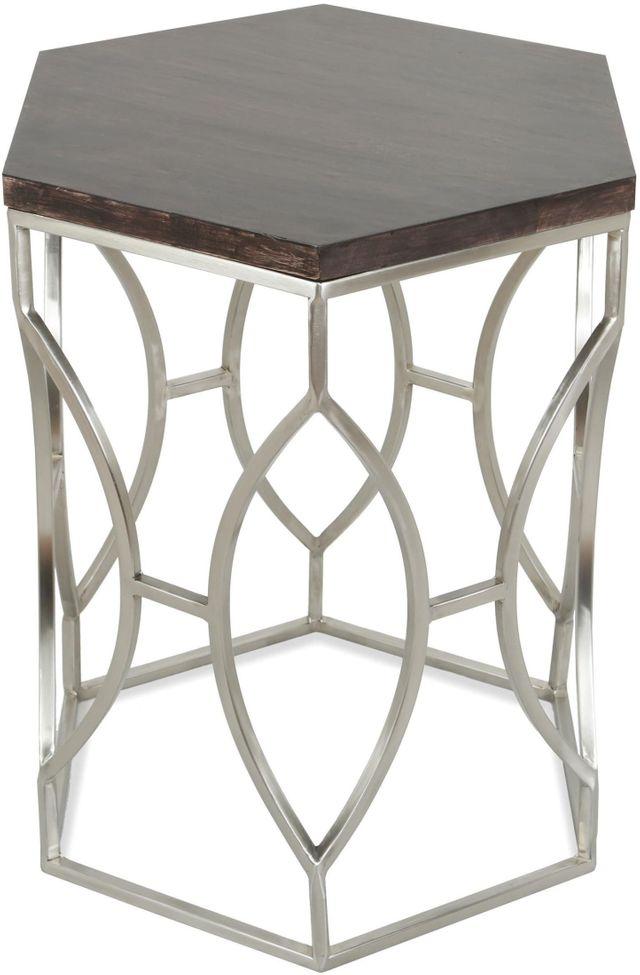 Riverside Furniture Barron Hexagon Side Table-26809