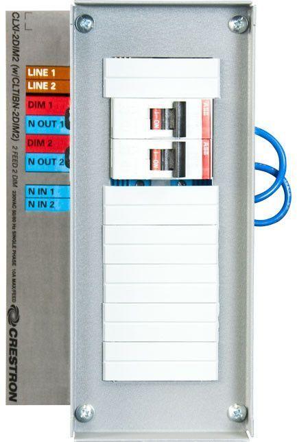 Crestron® Circuit Breaker Terminal Block-CLTIBN-2DIM2