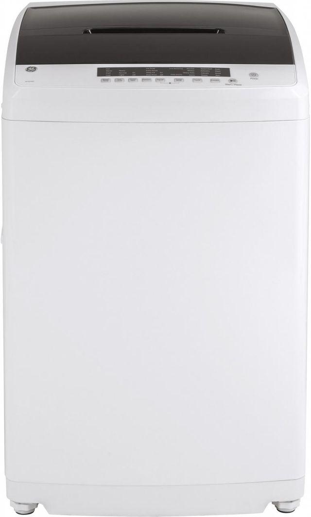 Laveuse à chargement vertical GE® de 3,3 pi³ - Blanc-GNW128SSMWW