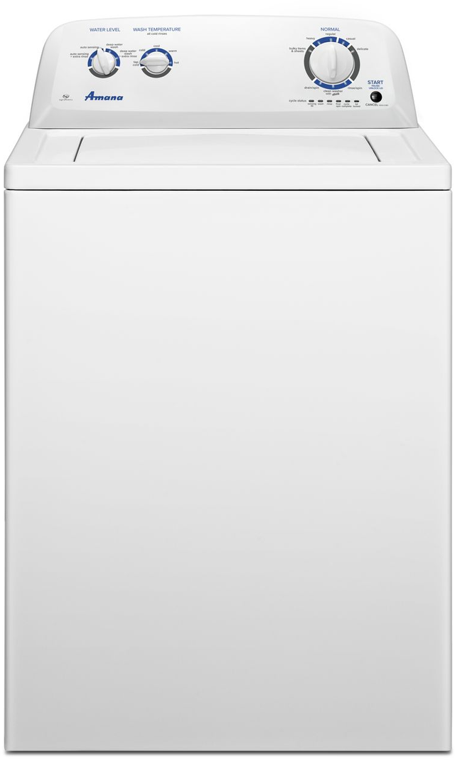 Amana® 3.5 Cu. Ft. White Top-Load Washer-NTW4516FW