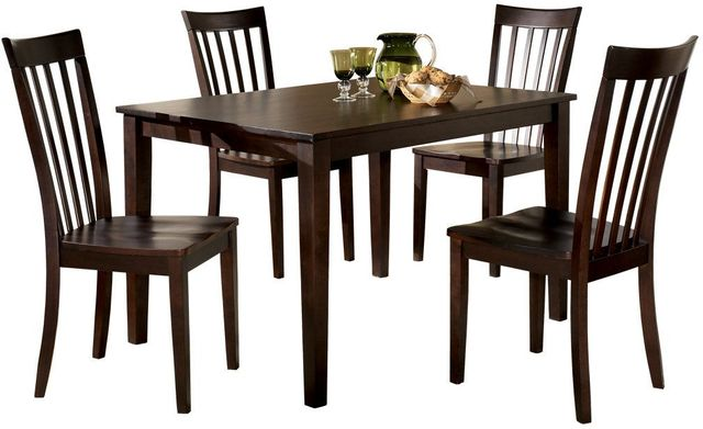 Ashley® Hyland 5 Piece Rectangular Dining Set-D258-225