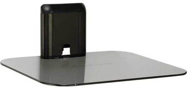 Sanus® Vertical Series Black On-Wall AV Shelf-VMA401-B1