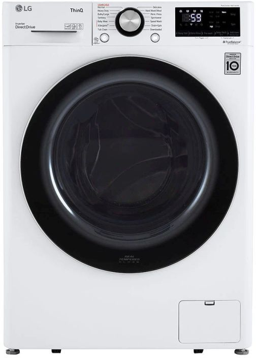 LG 2.4 Cu. Ft. White Front Load Washer -WM1455HWA
