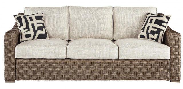 Signature Design by Ashley® Beachcroft Beige Sofa with Cushion-P791-838
