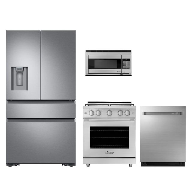 Dacor 4 Piece Kitchen Package Stainless Steel Dakithgr30ps Atherton Appliance Kitchens Redwood City Ca