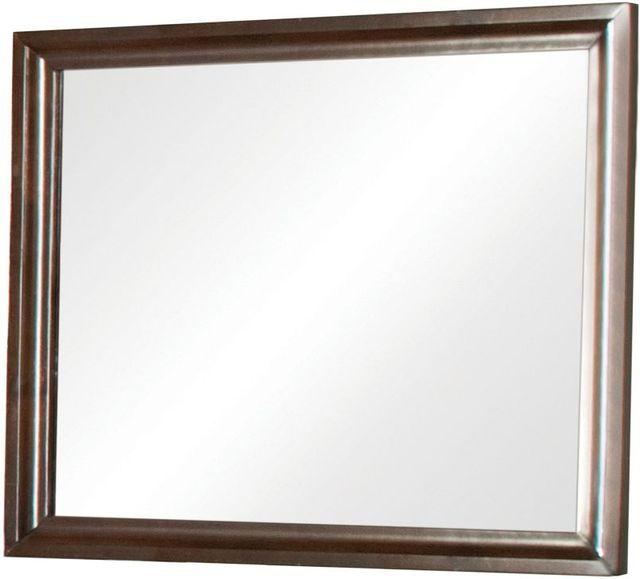 Coaster® Jaxson Cappuccino Mirror-203484