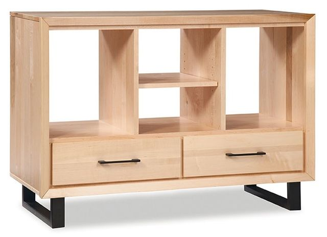 Durham Furniture Odyssey Solid Accents Natural Console Table-186-562