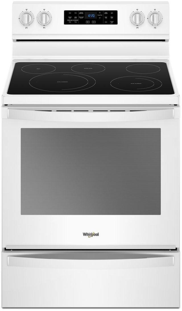 "Whirlpool® 30"" Freestanding Electric Range-White-WFE775H0HW"