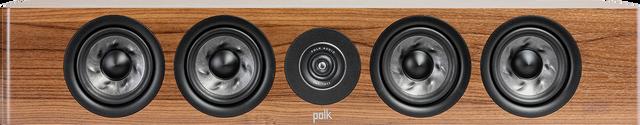 Polk Audio Reserve R350 Brown Slim Center Channel Speaker -R350 Brown