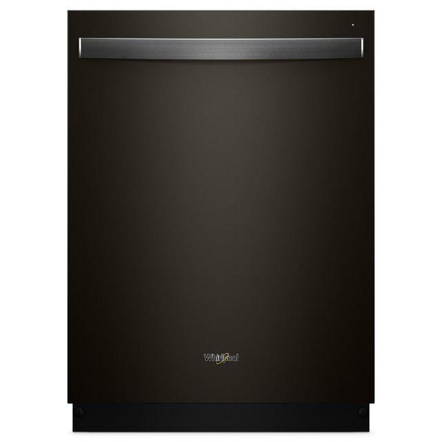 """Whirlpool® 24"""" Built-In Dishwasher-Fingerprint Resistant Black Stainless-WDT730PAHV"""