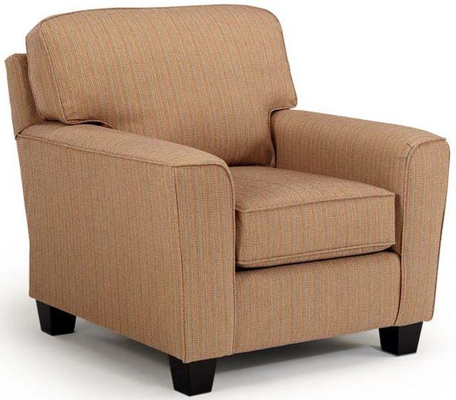 Best Home Furnishings Annabel2 Espresso Club Chair-C82E