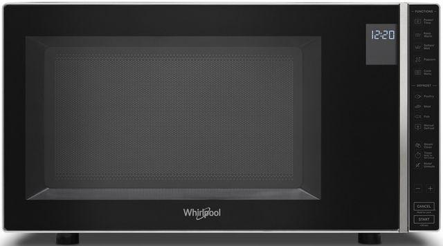 Whirlpool® 1.1 Cu. Ft. Silver Countertop Microwave-WMC30311LD
