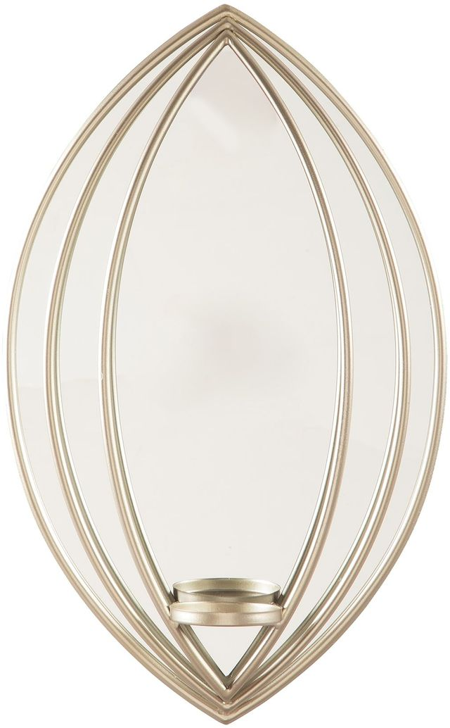 Signature Design by Ashley® Donnica Silver-tone Wall Sconce-A8010154