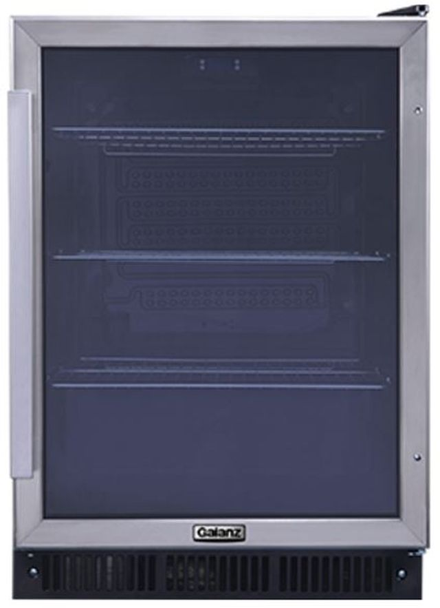 Galanz 5.7 Cu. Ft. Stainless Steel Built-In Beverage Cooler-GLB57MS2B15