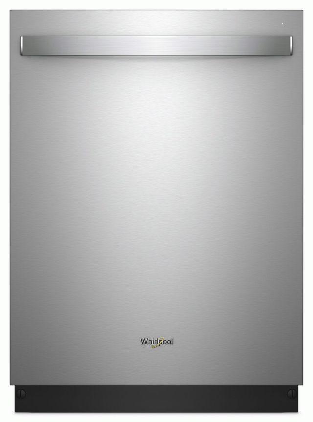 """Whirlpool® 24"""" Built-In Dishwasher-Fingerprint Resistant Stainless Steel-WDT730PAHZ"""
