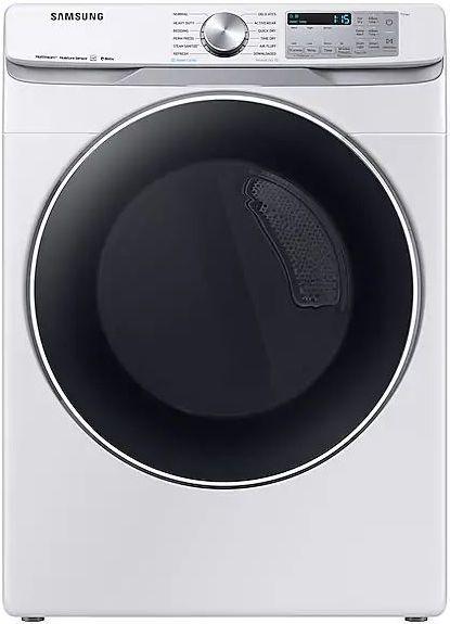 Samsung 7.5 Cu. Ft. White Front Load Electric Dryer-DVE45R6300W