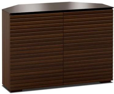 Salamander Designs® Chameleon Zurich 323 Brown Corner Cabinet-C/ZU323CR/OB