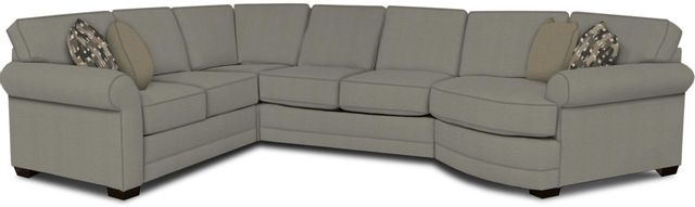 England Furniture Co. Brantley 4 Piece Culpepper Cement/Alvarado Mineral/Accolade Mist Sectional-5630-28-22-43-95+8612+8323+8601