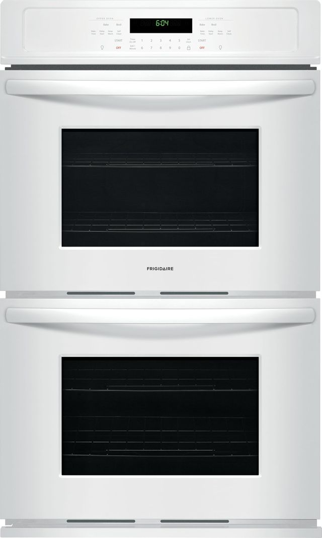 """Frigidaire® 27"""" White Electric Double Oven Built In-FFET2726TW"""