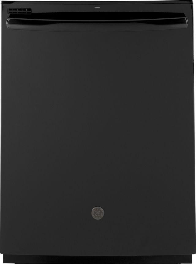"GE® 24"" Built In Dishwasher-Black-GDT605PGMBB"