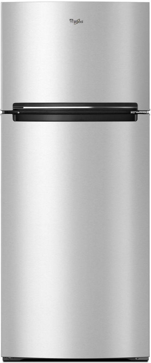 Whirlpool® 17.64 Cu. Ft. Top Freezer Refrigerator-Fingerprint Resistant Metallic Steel-WRT518SZFG
