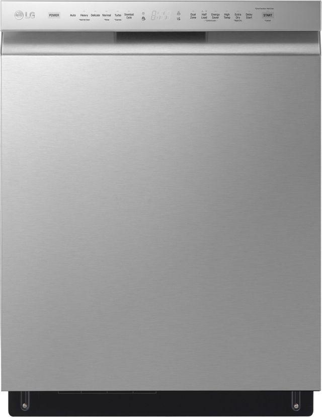 """LG 24"""" PrintProof™ Stainless Steel Built In Dishwasher-LDFN4542S"""