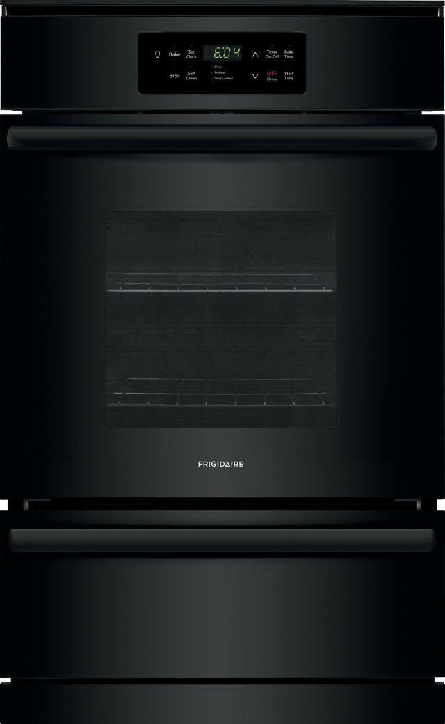 """Frigidaire® 23.88"""" Black Single Gas Wall Oven-FFGW2426UB"""