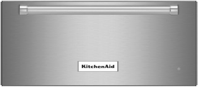 "KitchenAid® 23.75"" Stainless Steel Slow Cook Warming Drawer-KOWT104ESS"