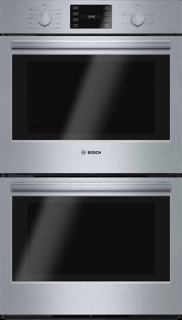 """Bosch 500 Series 30"""" Electric Double Oven Built In-Stainless Steel-HBL5651UC"""