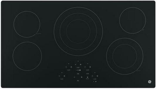 "GE® 36"" Electric Cooktop-Black-JP5036DJBB"