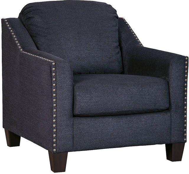 Fauteuil Creeal Heights en tissu bleu Benchcraft®-8020220