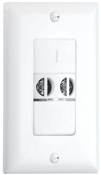 Crestron® STEINEL US WLS 1 Ultrasonic Wall Switch Occupancy Sensor-Light Almond-GLA-US-WLS-1-LA