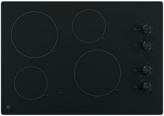 "GE® 30"" Electric Cooktop-Black-JP3030DJBB"