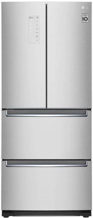 LG 14.3 Cu. Ft. Platinum Silver Kimchi/Specialty Food French Door Refrigerator-LRKNS1400V