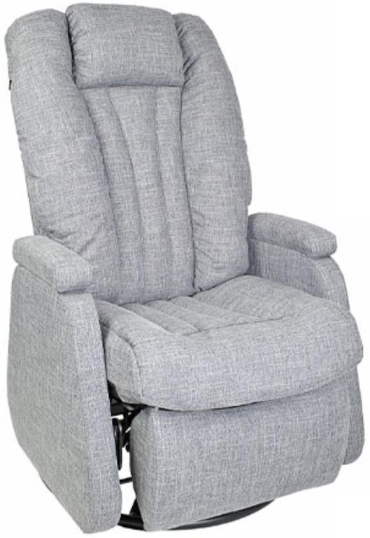 Fauteuil inclinable motorisé motorisé NEO en tissu gris PEL International®-315356