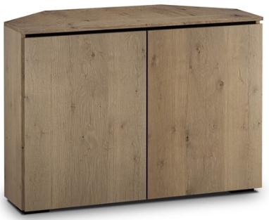 Salamander Designs® Chameleon Lancaster 323 Barnboard Oak Corner Cabinet-C/LA323CR/BBO