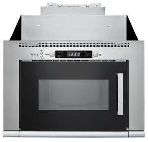 Four à micro-ondes à hotte intégrée Whirlpool® de 0,8 pi³ de 24 po - Acier inoxydable-UMH50008HS