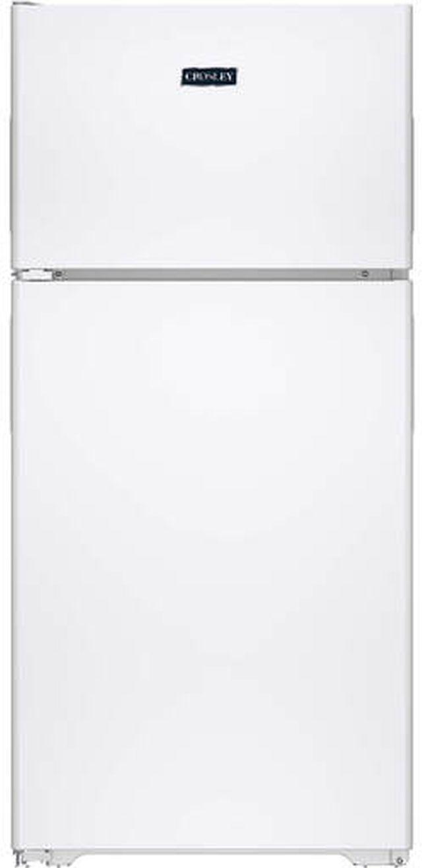 Crosley® 15.6 Cu. Ft. White Top Mount Refrigerator-XRS16BGAWP