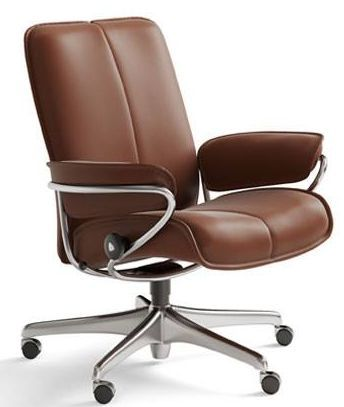 Stressless® by Ekornes® City Low Back Star Base Office Chair-1286097