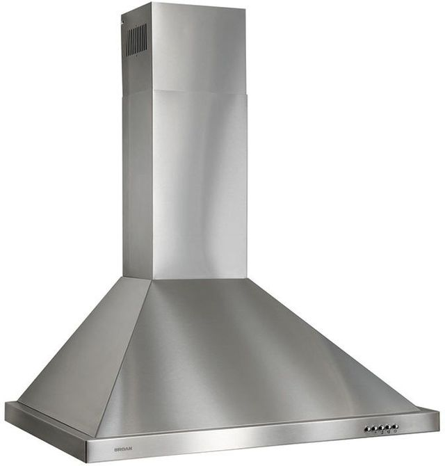"""Broan® B58 Series 30"""" European Style Chimney Hood-Stainless Steel-B5830SS"""