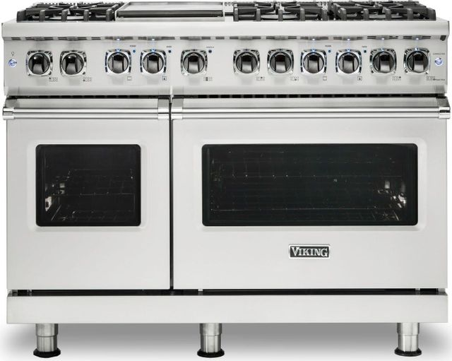 """Viking® Professional 5 Series 48"""" Pro Style Dual Fuel Range-Stainless Steel-VDR5486GSS"""