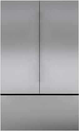 """Sub-Zero® Classic 42"""" Stainless Steel French Door Framed Front Panels-7027158"""