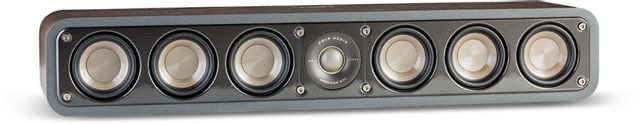 "Polk Audio® Signature Series S35 Classic Brown Walnut 3"" Home Theater Slim Center Channel Speaker-AM9635"