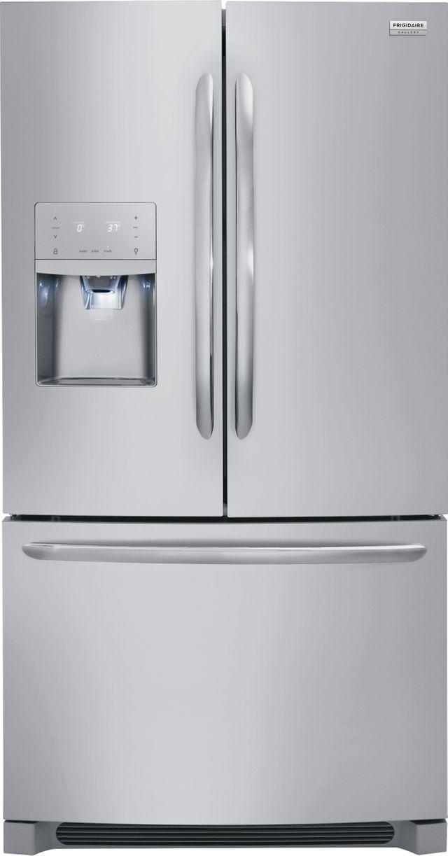 Frigidaire Gallery® 21.7 Cu. Ft. Stainless Steel Counter Depth French Door Refrigerator-FGHD2368TF