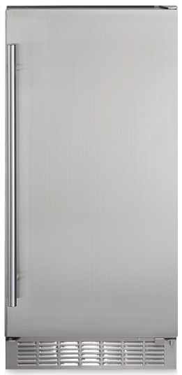 """Silhouette® Professional Mosel 14.96"""" Stainless Steel Under Counter Ice Maker-DIM32D1BSSPR"""